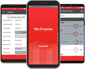 Powerproject Site Progress Mobile App